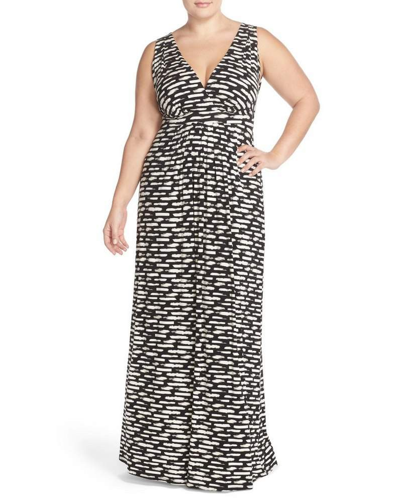 Plus Size Summer Essentials- Tart Maxi Dress