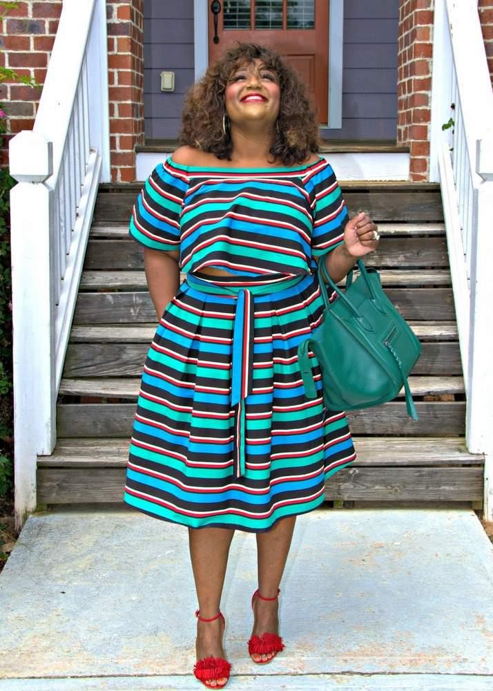 Plus size blogger spotlight on NikkiFree Style