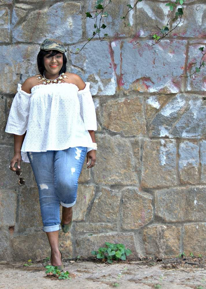 Plus size blogger spotlight on NikkiFree Style