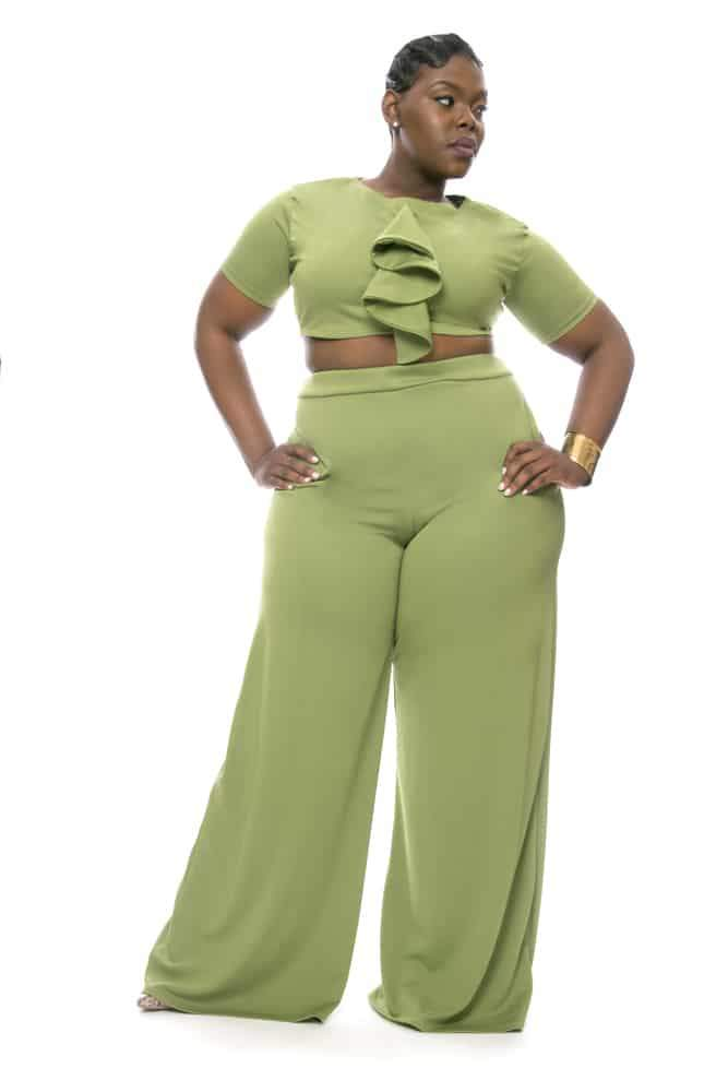 Plus Size Designer- Christian Omeshun Cosmo Collection