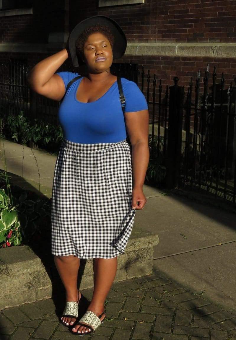 Plus Size Fashion Blogger Spotlight- Dasha of Windy City Wardrobe
