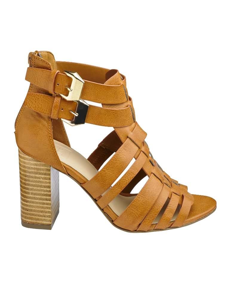 Sole Diva Wide width Block Heel Sandals