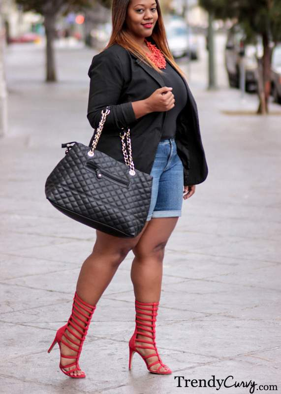 Trendy Curvy in Wide Calf Gladiators