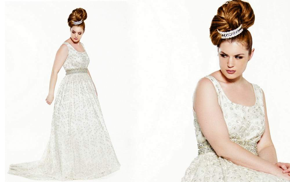 For the Nontraditional Plus Size Bride: Jibri Launches Bridal