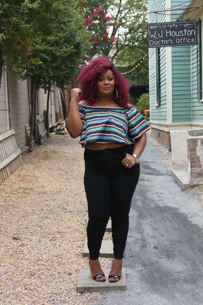 3 Ways To Rock Black Plus Size Jeans and My Old Navy Denim Campaign (5)