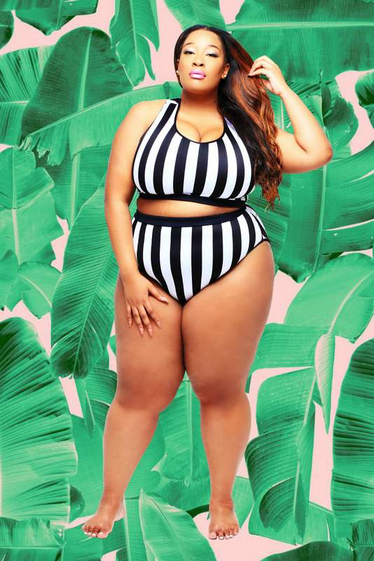 Bloggers Everything Curvy and Chic and Essie Golden Launch a Swim Collection with Rebdolls