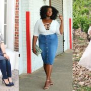 #TCFStyle Roundup: Plus size Style and Outfit Inspiration