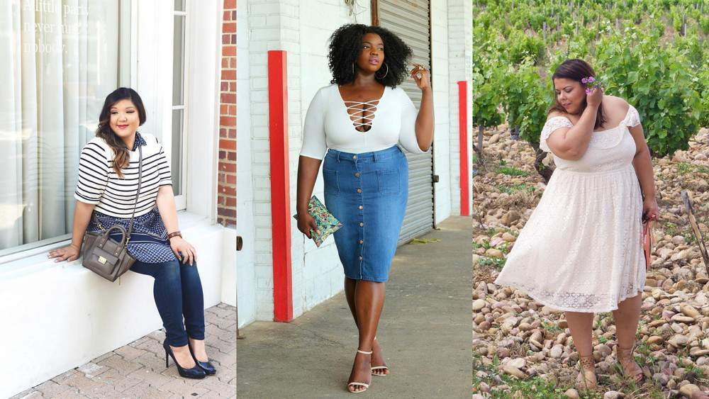 #TCFStyle Roundup: Summer Time Fine in Plus Size Style