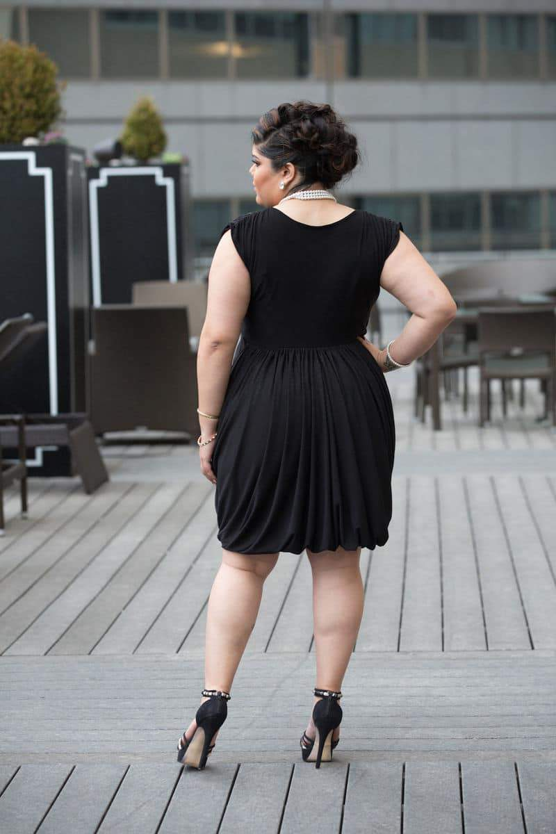The Bella Black Dress available at Shavonne Dorsey