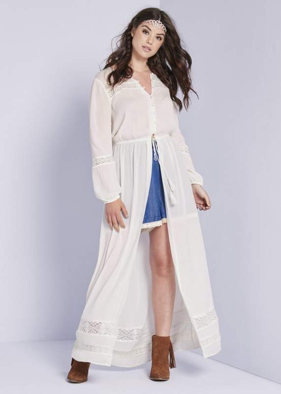 Simply Be Button Down Maxi Dress at SimplyBe