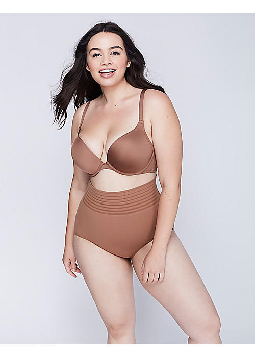 Smooth Boost Plunge Bra at LaneBryant