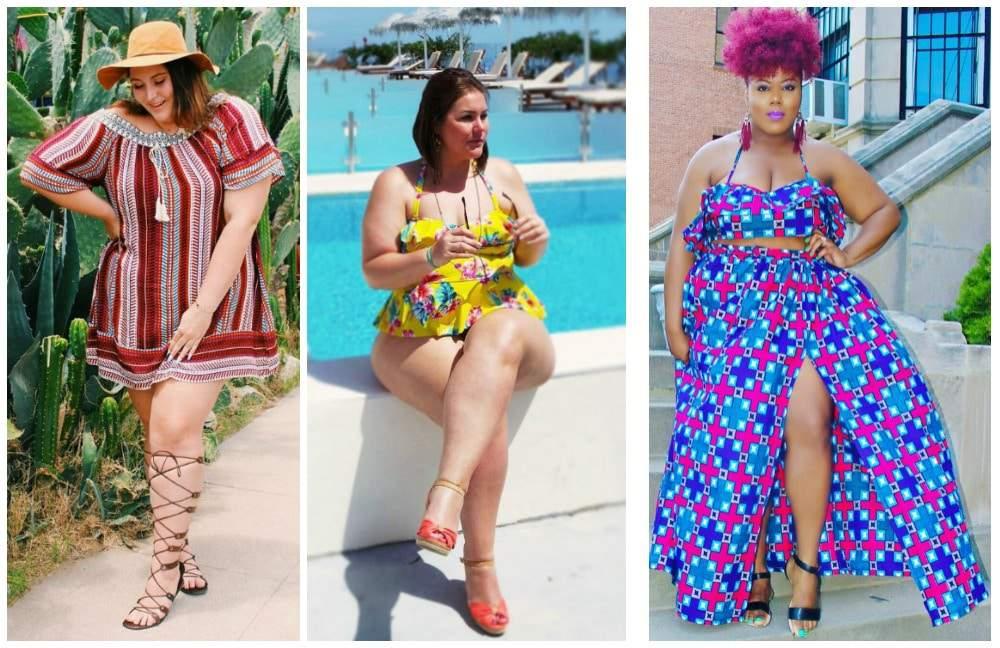 Summer Plus Size Fashion TCFStyle
