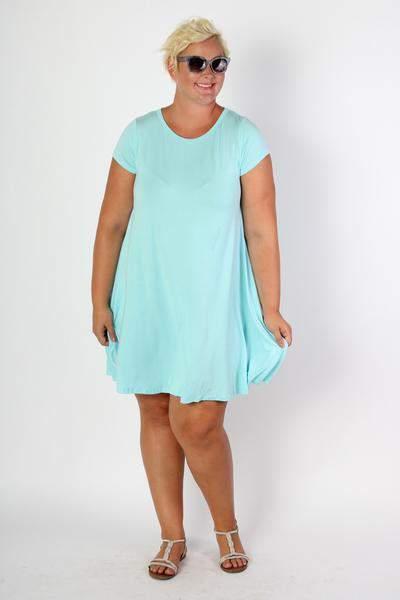 Summer Tunic Dress at Society-Plus