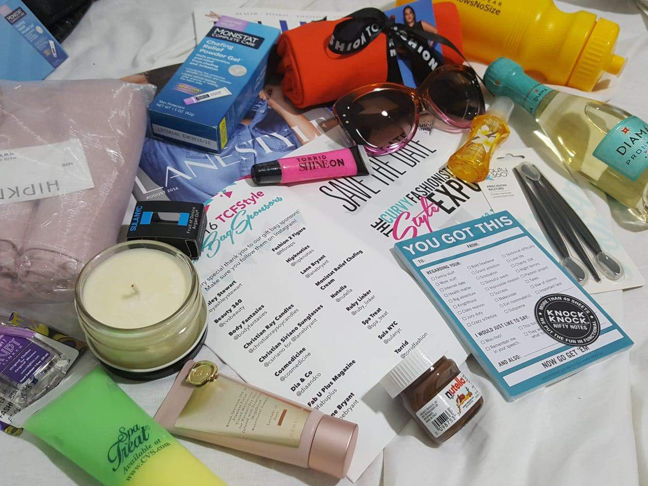 Special Thanks to Our Sponsors for the Awesome ASxTCFStyle Expo Swag Bag