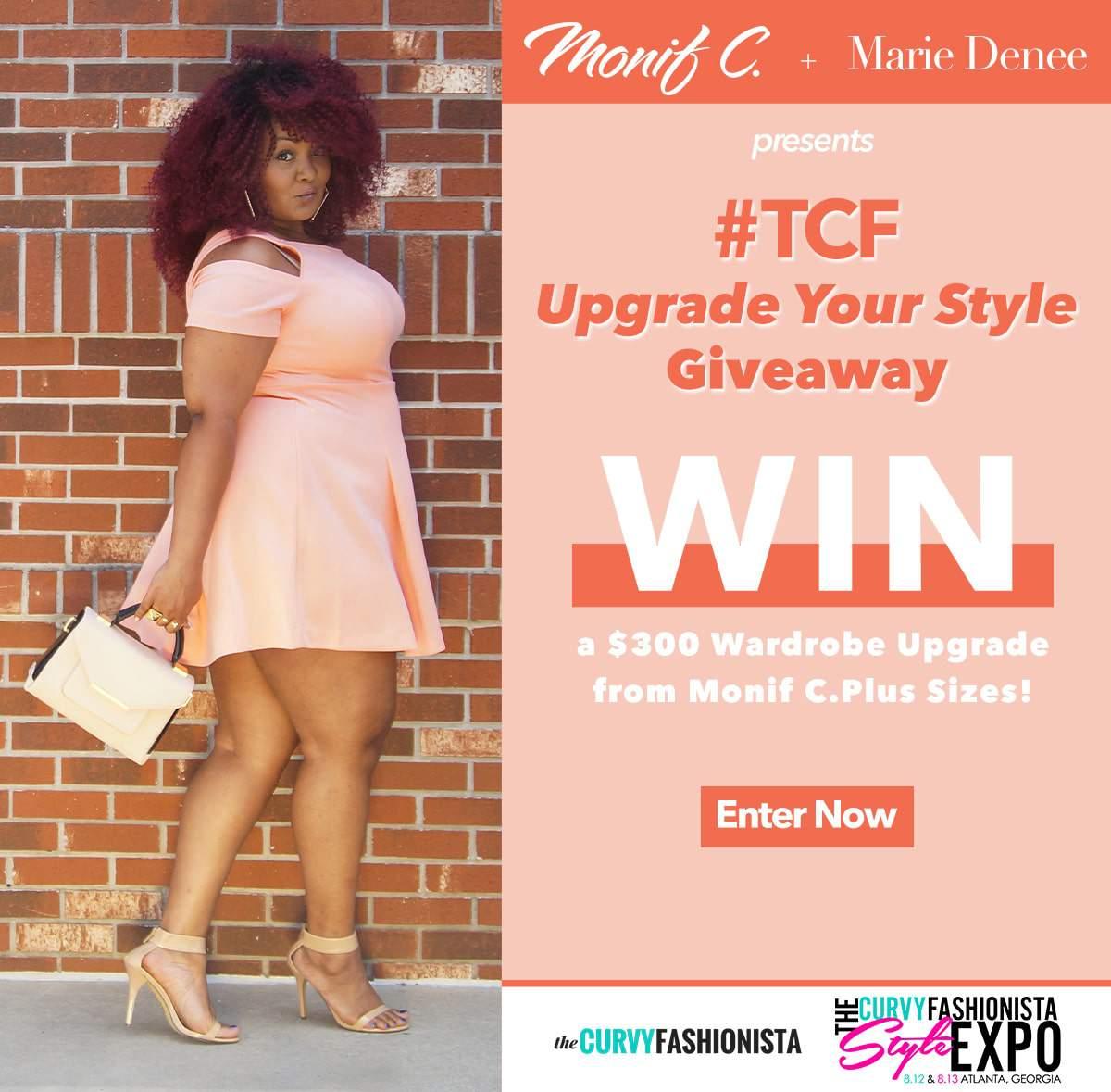 Monif C TCFStyle Expo Giveaway