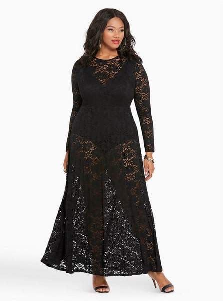 Torrid Drops Empire Collection-Cookie Lace Dress