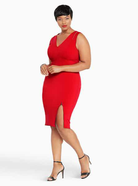 Torrid Drops Empire Collection-Anika Red Dress