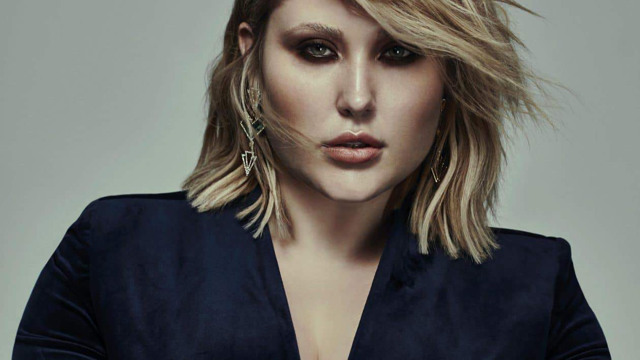 First Look: Hayley Hasselhoff for UK Plus Size Brand, Elvi