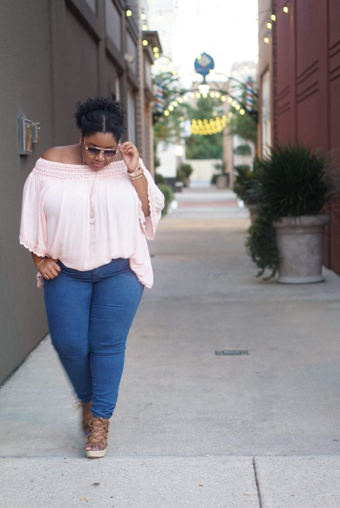 Plus Size Fashion Blogger, Ashley of Rules to Life