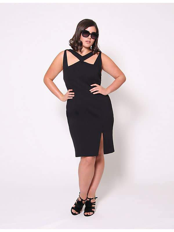 Christian Siriano for Lane Bryant Ponte Knit Dress
