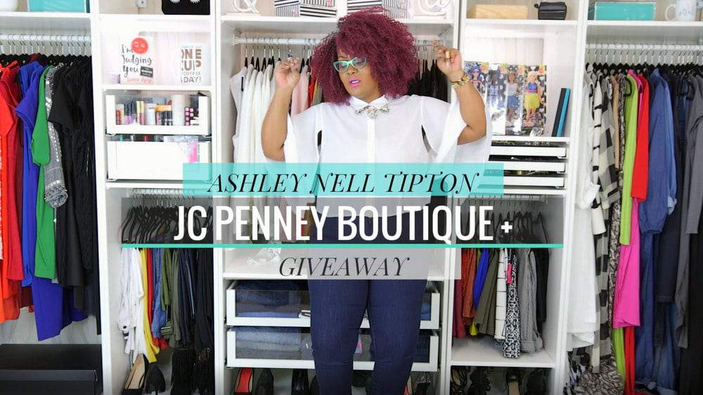 My Style: Giving Ashley Nell Tipton for JCPenney a Whirl + a Giveaway!