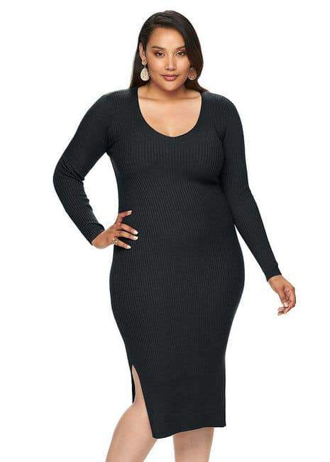 9600b171a3b 18 Top Picks For Plus Size Sweater Dresses!