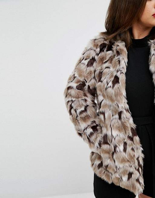 674796cb8c1 Looking for a Faux Fur Jacket for the Fall  Here are 20 Foxy Faux ...
