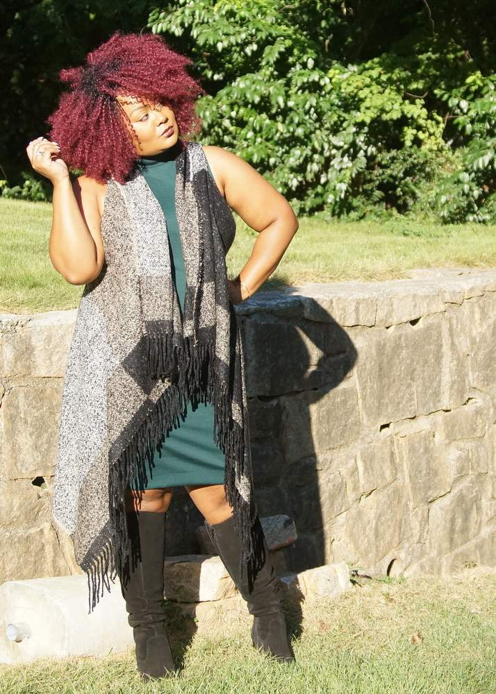 My Style Playful Layers for Fall with Kohls Plus Size Fashion