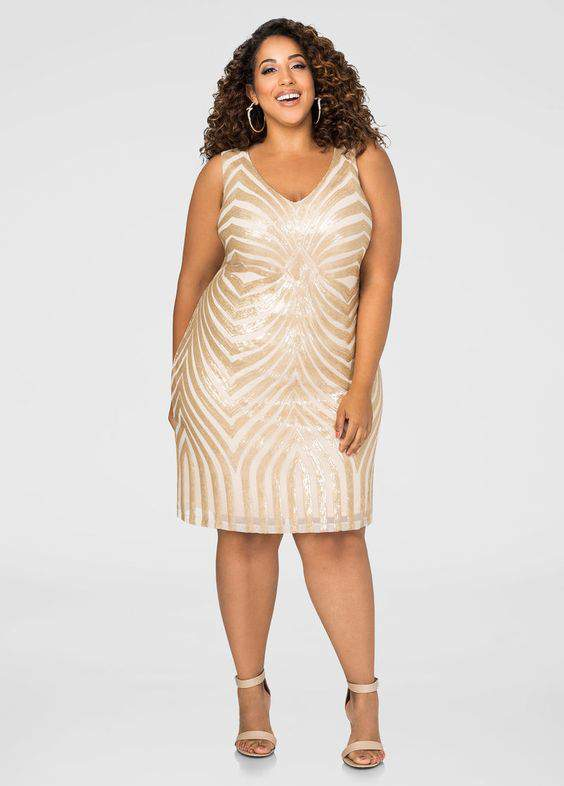 10 Plus Size Show Stopping Sequins Pieces Made for the Spotlight!