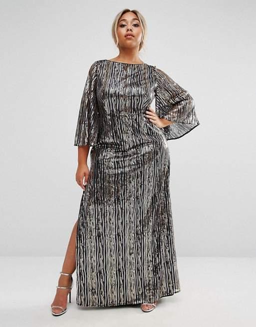 Sequins Dress- Lovedrobe Asos Curve