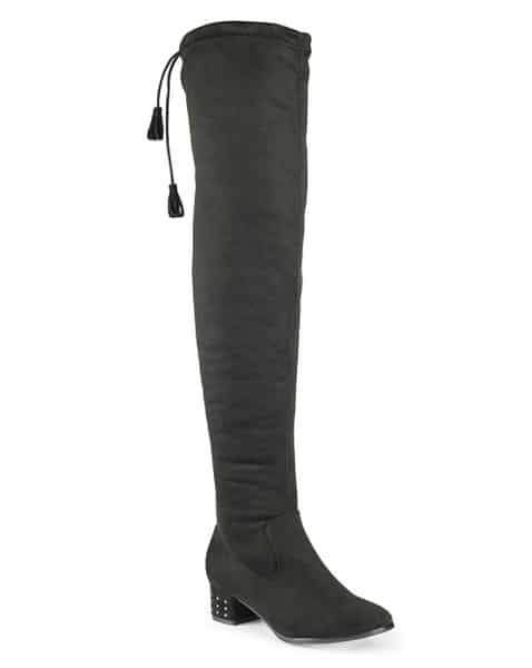 Sole Diva Wide Calf Over The Knee Boots at SimplyBe