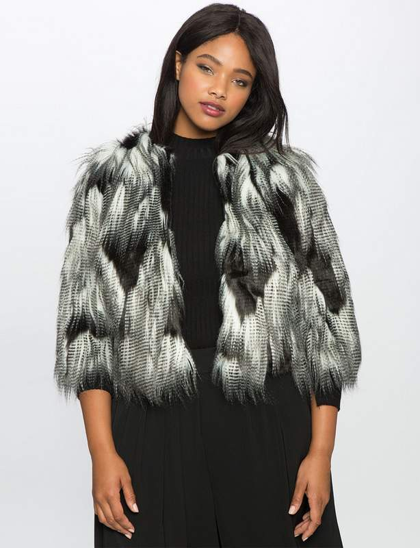 e02016ba501 ... Jacket at Eloquii.com · Here are 20 Plus Size Foxy Faux Fur Finds!