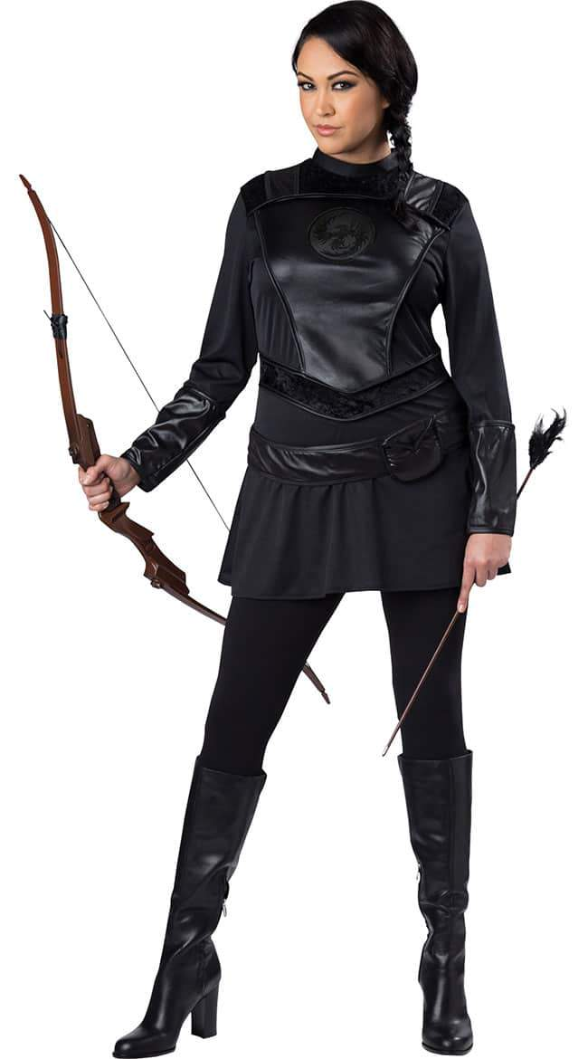 The Warrior Huntress Plus Size Costume Look