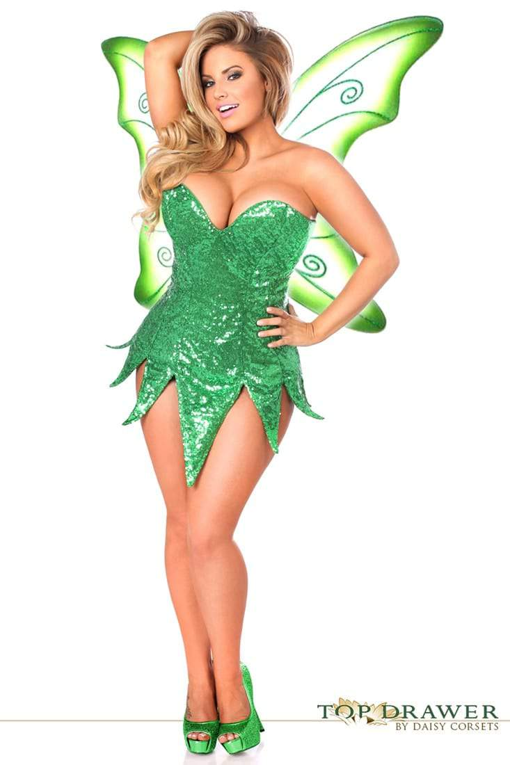 plus size tinkerbell fairy costume