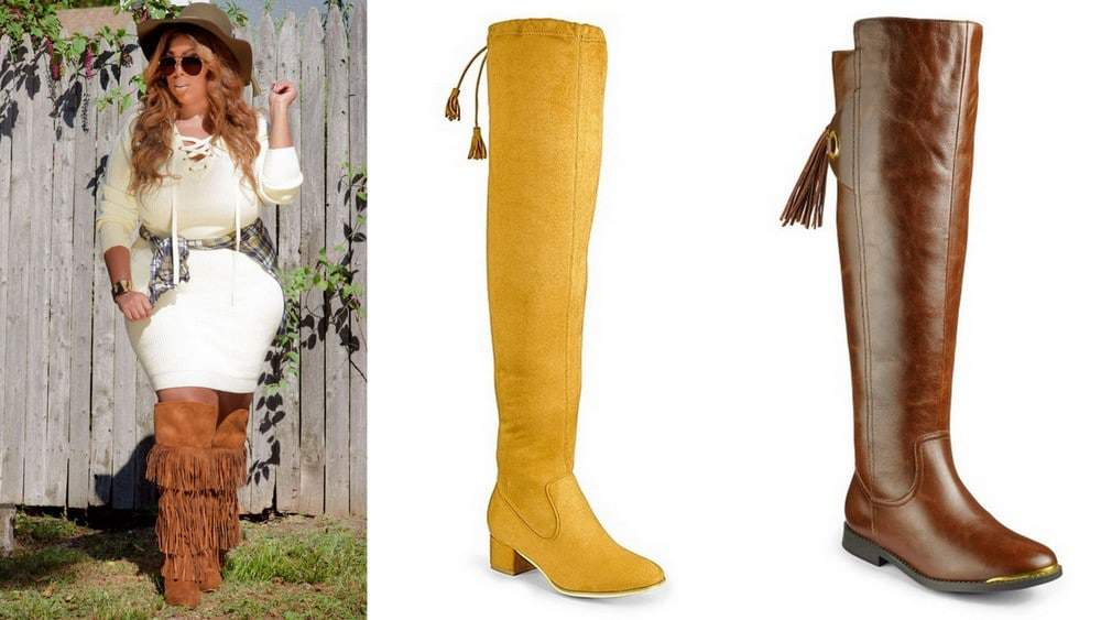 Ready for Fall? Here are 13 Must Have Wide Calf Knee High & Higher Boots!