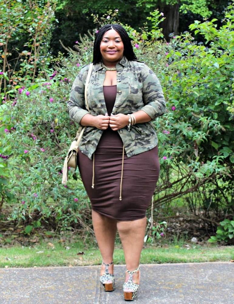 Meet Plus Size Blogger, Bianca of Curvaceously Bee