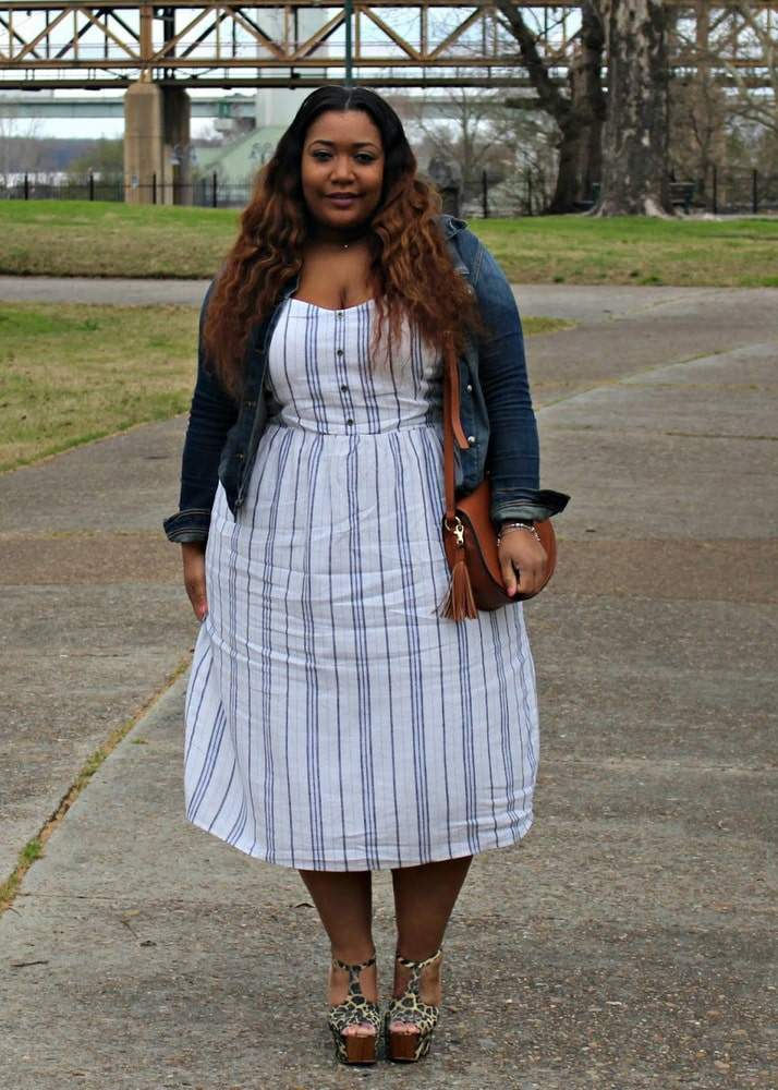 Plus Size Fashion Blogger Spotlight: Bianca of Curvaceously Bee