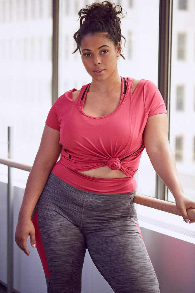 Fashion to Figure Launches plus size activewear line- FTF Active