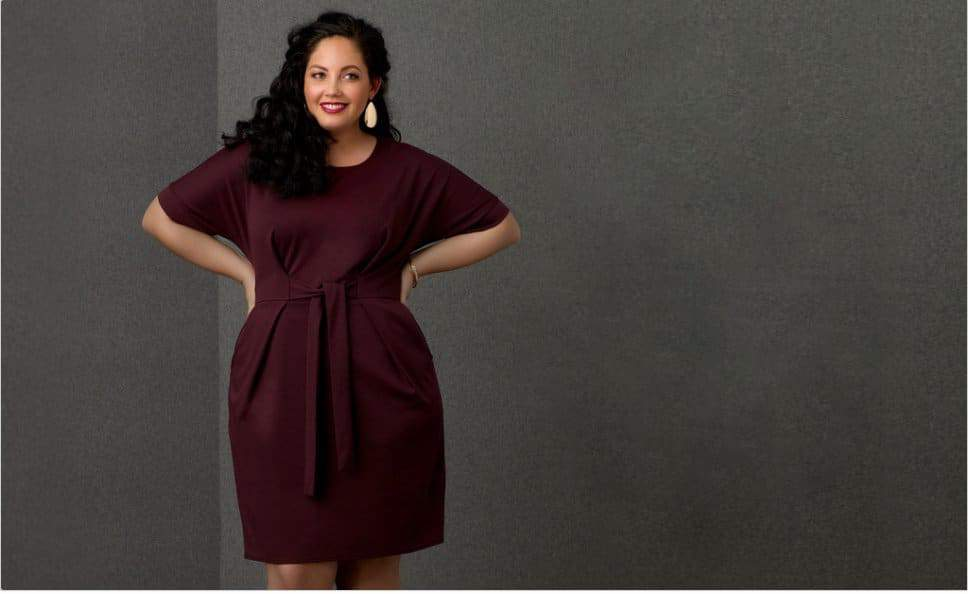 Sears Simply Emma Plus Size Collection featuring Girl with Curves