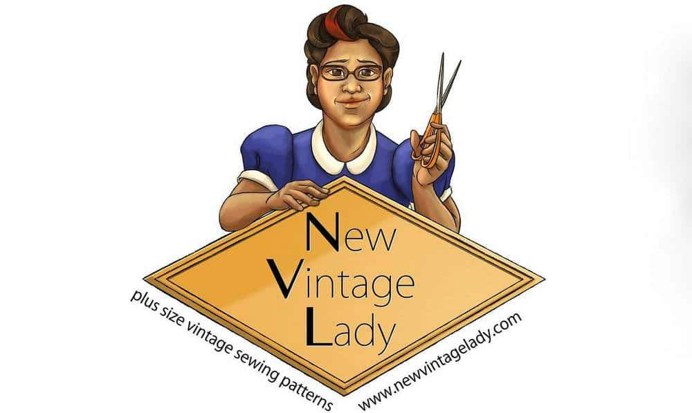 Looking for a Few Great Plus Size Vintage Finds?  Meet New Vintage Lady Patterns!