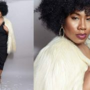 Plus Size Blogger Kelly Augustine Fashions her Own Holiday Lookbook