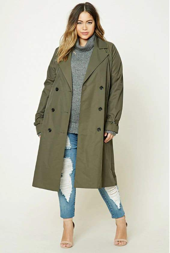 0347e78428 Here are 15 Plus Size Coats Ready For Winter