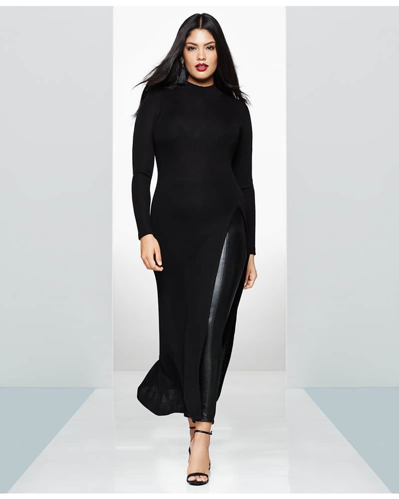 Gotta Have It: This Maxi Sweater with Thigh High Split by Rachel Rachel Roy