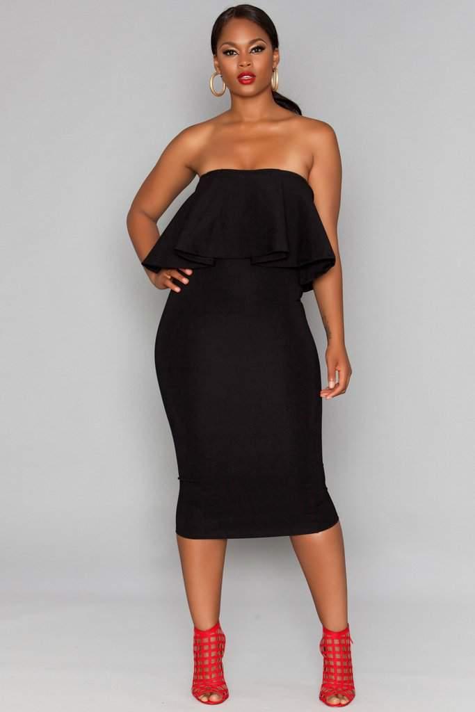 The Rue 107 Hardy Little Black Dress