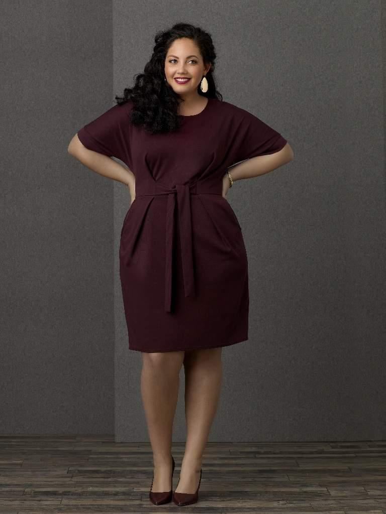 Sears SImply Emma Dolman Sleeve Dress