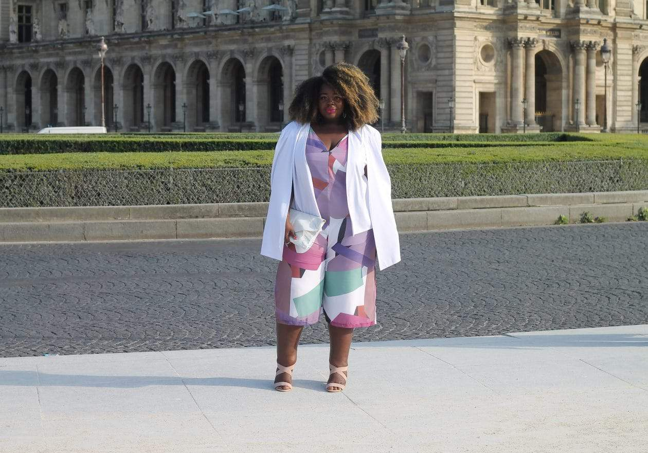 Plus Size French Blogger Gaelle Prudencio 2