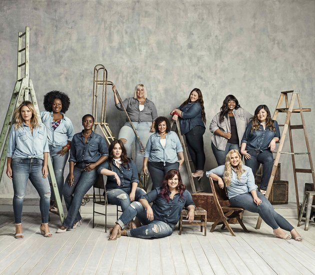 Torrid plus size denim campaign