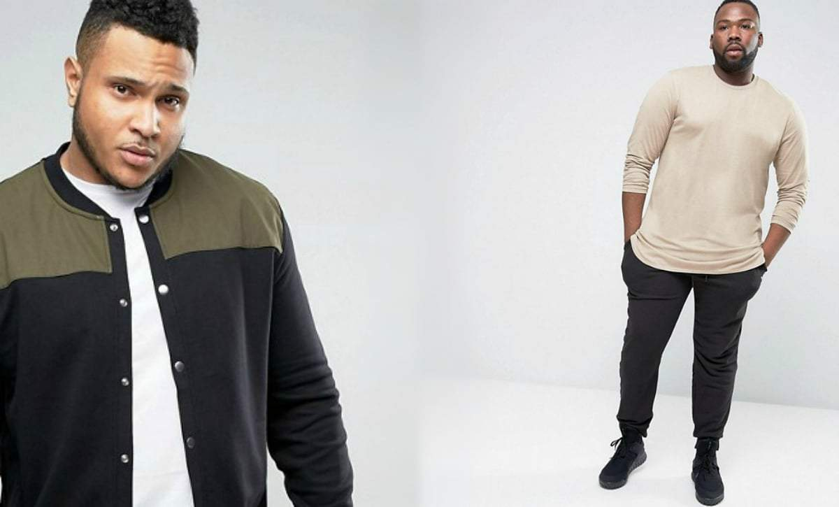 Cool News! ASOS Launches the Plus Size Men Collection!