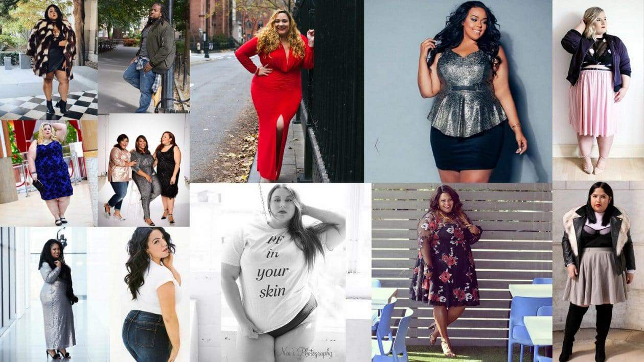 Plus size bloggers of 2016