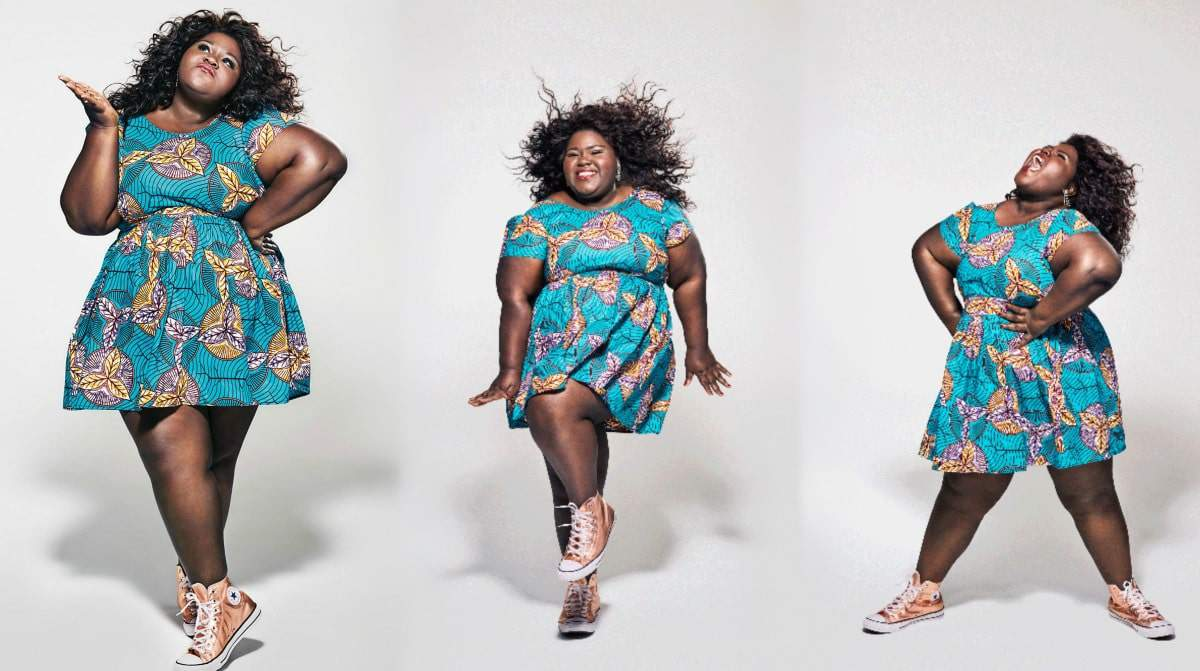 """Gabourey Sidibe Shares the Cover of Her Memoir: """"This is Just My Face: Try Not to Stare."""""""
